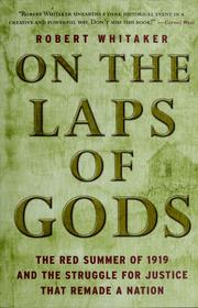 Cover of: On the Laps of Gods