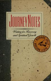 Cover of: Journeynotes