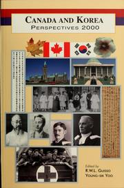 Cover of: Canada and Korea |
