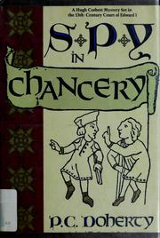 Cover of: Spy in chancery