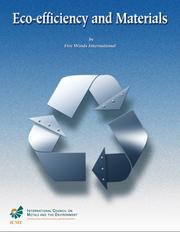 Cover of: Eco-efficiency and materials, by Five Winds International