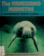 Cover of: The vanishing manatee