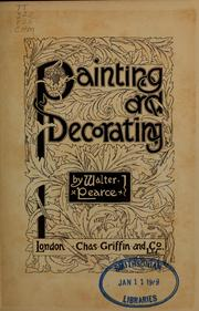 Cover of: Painting and decorating