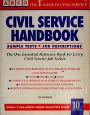 Cover of: Civil service handbook |