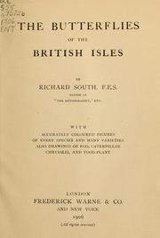 Cover of: The butterflies of the British Isles | Richard South