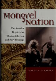 Cover of: Mongrel nation