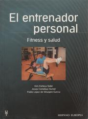 Cover of: El entrenador personal