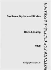 Cover of: Problems, Myths and Stories