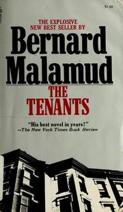 Cover of: The tenants by Bernard Malamud