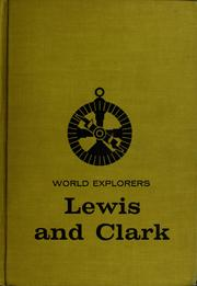 Cover of: World explorers: Lewis and Clark