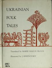 Cover of: Ukrainian folk tales