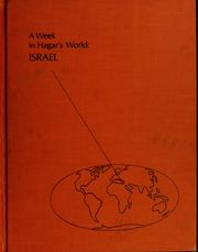 Cover of: A week in Hagar's world: Israel
