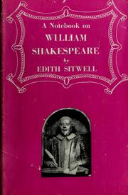Cover of: A notebook on William Shakespeare