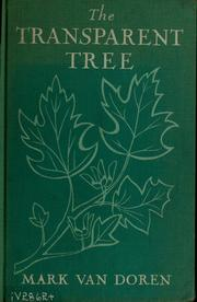 Cover of: The transparent tree