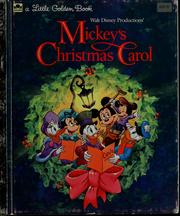 cover of mickeys christmas carol walt disney studios - Mickeys A Christmas Carol