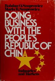 Cover of: Doing business with the People