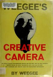 Cover of: Weegee's creative camera