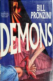 "Cover of: Demons: a ""Nameless Detective"" mystery"