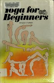 Cover of: Yoga for beginners