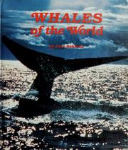 Cover of: Whales of the world