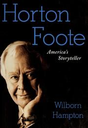 Cover of: Horton Foote | Wilborn Hampton