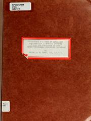 Cover of: Historical overview of data communication with analysis of a selective repeat protocol