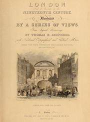 Cover of: London and its environs in the nineteenth century