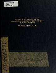 Cover of: Foreign Naval Officers at the Inoted States Navy Supply Corps School in Athens, Georgia