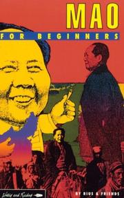 Cover of: Mao for Beginners (A Writers & Readers Beginners Documentary Comic Book) | Rius, Friends