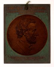 Cover of: Lincoln centennial anniversary calendar, 1809-1909