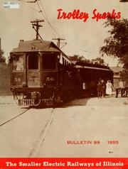 Cover of: The smaller electric railways of Illinois