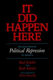 Cover of: It did happen here |