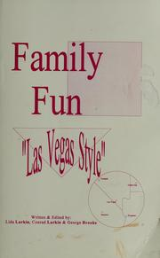 Cover of: Family fun Las Vegas style