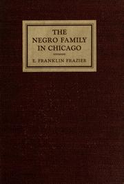 Cover of: The Negro family in Chicago