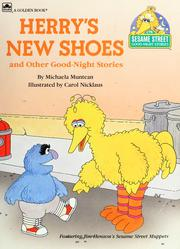 Cover of: Herry's New Shoes (Sesame Street Good-Night Stories) |
