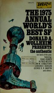Cover of: The 1975 Annual world's best SF