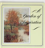 Cover of: A Garden of inspiration | edited by Gail Harvey.