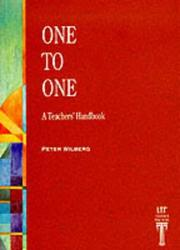 Cover of: One to One | Peter Wilberg