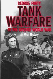 Cover of: Tank Warfare in the Second World War: An Oral History