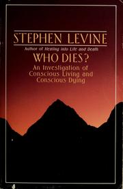 Cover of: Who dies? by Levine, Stephen