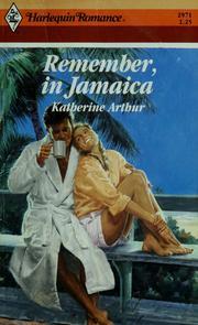 Remember In Jamaica (Harlequin Romance, No 2971)