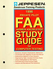 Cover of: Instrument rating FAA airmen knowledge study guide for computer testing | inc Jeppesen Sanderson