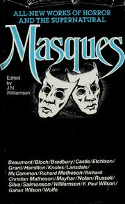 Cover of: Masques