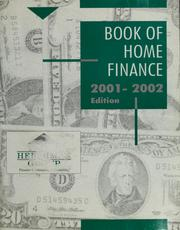 Cover of: Book of home finance | Financial Education Consultants