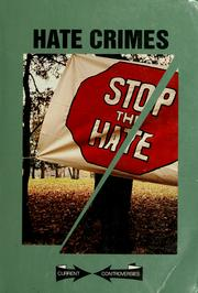 Cover of: Hate crimes |
