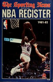 Cover of: Official NBA register