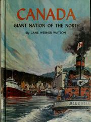 Cover of: Canada, giant nation of the North