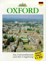 Cover of: Oxford