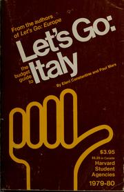 Cover of: Let's go: the budget guide to Italy