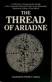 Cover of: The thread of Ariadne | P. J. Umphrey